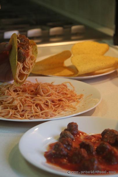 ספגטי טאקו